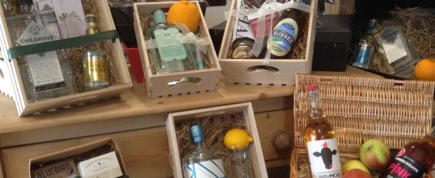 food & drink hampers, boxes & bags